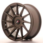 Japan Racing JR22 17x8 ET35 Custom Matt Bronze