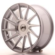 Japan Racing JR22 17x8 ET35 Custom Silver Machined