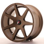 Japan Racing JR20 18x9,5 ET20-40Custom  Matt Bronze  Ext. CB: 74,1