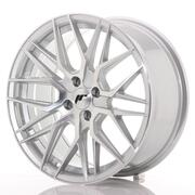 Japan Racing JR28 17x8 ET40 4x100 Silver Machined