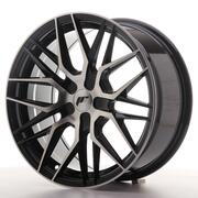 Japan Racing JR28 17x8 ET25-40 Custom Black Machine