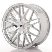 Japan Racing JR28 17x8 ET25-40 Custom Silver Machin