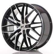 Japan Racing JR28 21x9 ET15-45 5H Custom Black Machined