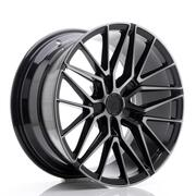JR Wheels JR38 19x8,5 ET20-45 5H BLANK Black Brushed w/Tinted Face