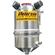 PETERSON Pavement Oval Dry Sump Oil Tank, 3 gal, with filter.