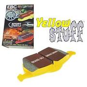 EBC Yellowstuff Aramid Brake Pads, Front.