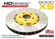 DBA CLUBSPEC ROAD & RACE BRAKE ROTOR 5000 T3 SLOT 2PC ASSEMBLED DISC - FRONT