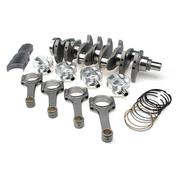 STROKER KIT - Honda/Acura K24, 102mm Billet Crank, Custom Severe-Duty Rods, Pistons, Bearings