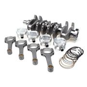 "STROKER KIT - Mitsubishi 4G64 7 Bolt Blk w/4G63 Head, 102mm Crank, BC625+ Rods (6.141""), Pistons"