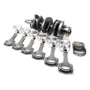 "STROKER KIT - Mitsubishi 6G72/VR-4 - 84mm Billet Crank, BC625+ Rods (5.548""), Custom Pistons"