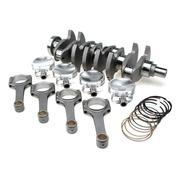 "STROKER KIT - Nissan SR20DE(T) - 91mm Billet Crank, Sportsman Rods (5.366""), Custom Pistons"