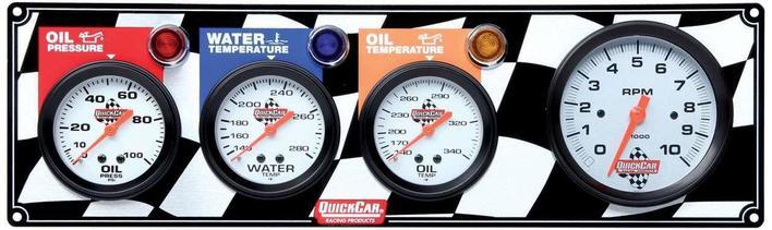 gauge panel assembly oil pressure oil temp tachometer. Black Bedroom Furniture Sets. Home Design Ideas