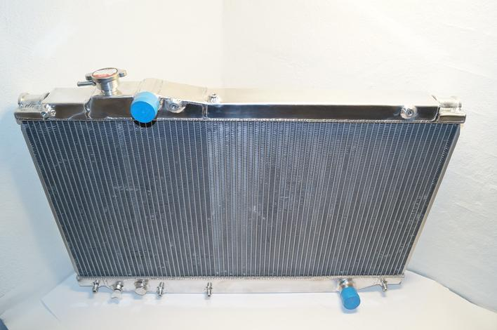 Toyota Supre MKIV Racing Radiator, Racing, double core alu Radiator