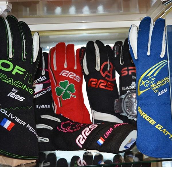 Customised FIA Virage 2 Gloves (External Seam)