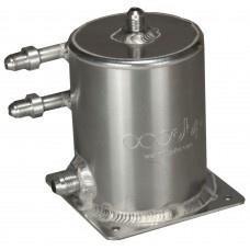 Base Mount 1 Ltr Fuel Swirl Pot with JIC Fittings