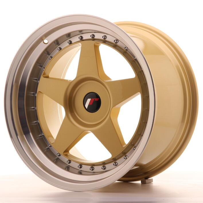 japan racing jr6 18x10 5 et0 25 custom gold. Black Bedroom Furniture Sets. Home Design Ideas