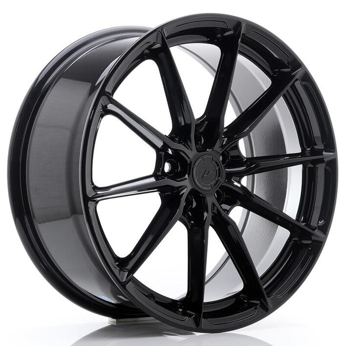 JR Wheels JR37 17x8 ET20-40 5H BLANK Gloss Black