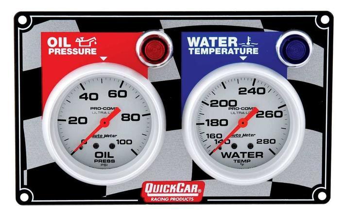 gauge panel assembly auto meter ultra lite oil. Black Bedroom Furniture Sets. Home Design Ideas