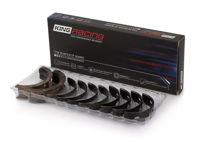 King Bearings - Main Bearing - Honda 1 6Liter D16A - D16B - D16Y5 - D16Y7 -  D16Y8 - D16Z6 - 102CI /1 7Liter D17A1 L4(SOHC 16 Valves Gasoline)
