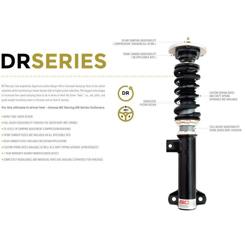 BC Racing 1995-1999 BMW M3 - DR Series Coilovers