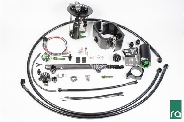 Fuel Delivery System, EVO X Fuel Hanger, Dual Pumps