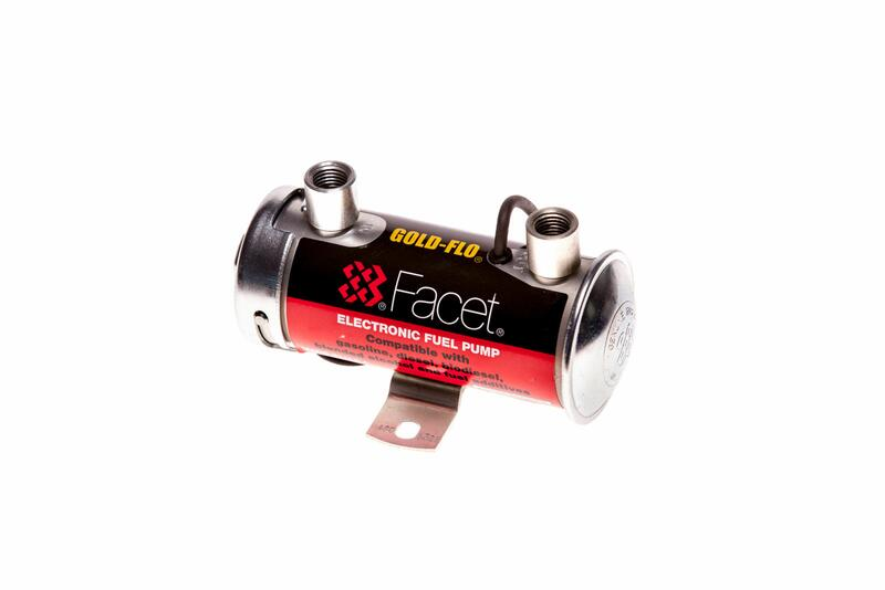 Facet Works Silver Top Fuel Pump Ideal For Swirl Pot Lift Filters