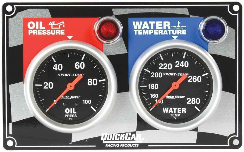 gauge panel assembly auto meter sport comp oil. Black Bedroom Furniture Sets. Home Design Ideas