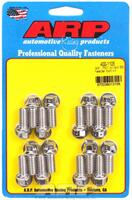 Universal, drilled, 0.750˝ UHL, 16 pieces Header Bolt & Stud Kits