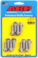 Universal, drilled, 0.875˝ UHL, 12 pieces Header Bolt & Stud Kits
