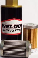 Weldon - universal filter element - 10 micron, stainless steel