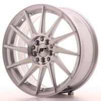 Japan Racing JR22 17x7 ET35 4x100/114 Machined Silver