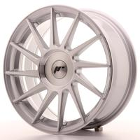 JR Wheels -  JR22 17x7 ET35-40 Custom Machined Silver