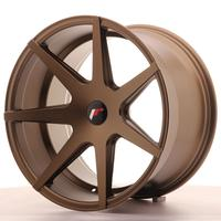 Japan Racing JR20 19x11 ET25-35 5H Custom Matt Bronze