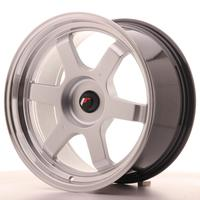 Japan Racing JR12 18x9 ET25-27 Custom Hyper Silver