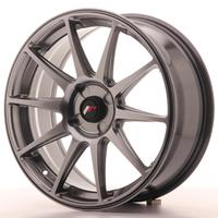 Japan Racing JR11 18x7,5 ET20-40 4H Custom Dark Hiper Black