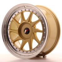 Japan Racing JR26 17x8 ET20-35 Custom Gold