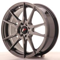 Japan Racing JR21 17x7 ET40 4x100/114 Hiper Black