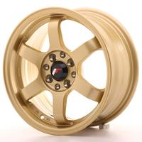 Japan Racing JR3 15x7 ET25 4x100/108 Gold