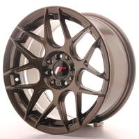 Japan Racing JR18 17x7 ET40 4x100/114 Matt Bronze