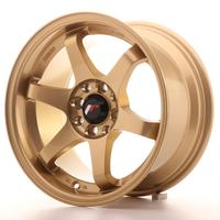 Japan Racing JR3 15x8 ET25 4x100/108 Gold