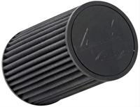 "AEM Induction Dryflow Synthetic Air Filters - Inlet 4"" - Black"