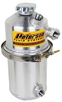 Peterson Fluid Systems 1.5 Gallon Oil Tank Dual Scavenge Inlet