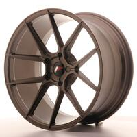 Japan Racing JR30 20x10 ET40 5H Custom Matt Bronze