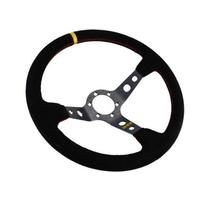 RRS Uni Race/Drift Dished Steering Wheel Corsa 350mm Black