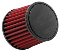 "AEM 3"" Inlet x 6"" Element with 1"" Pleat Dryflow Air Filter 600hp"