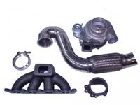 Turbokit for 1.8T Golf 4, Audi A3, TT GT2871R + Downpipe + V-Band to 400hk