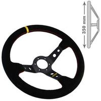 RRS Uni Race/Drift 90mm Dished Steering Wheel Rally - 350mm