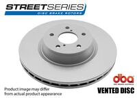 DBA HD SERIES BRAKE ROTOR 4000 STANDARD - FRONT