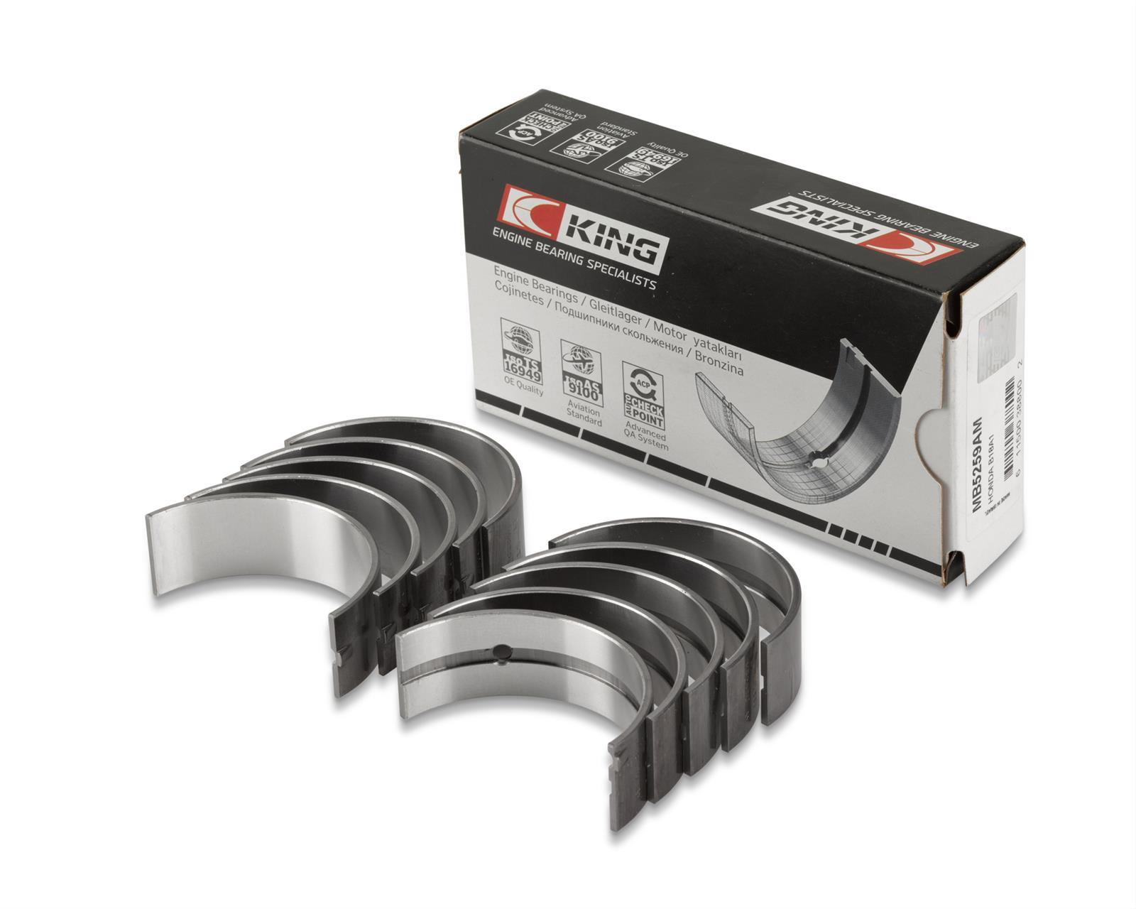 King Bearings - Main Bearing - EJ1 - EB2 - EB3 - EB1 - Honda F22B H22A