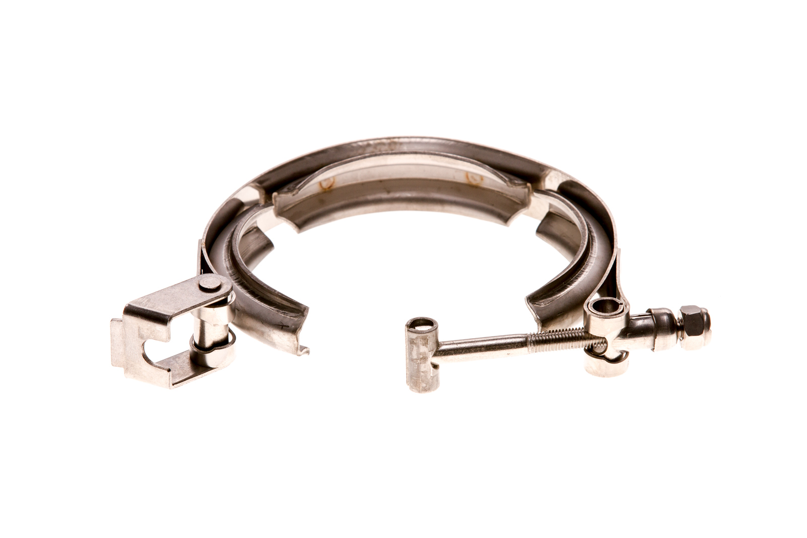 """5"""" V-Band - Clamp - Quick releas - Stainless Steel 